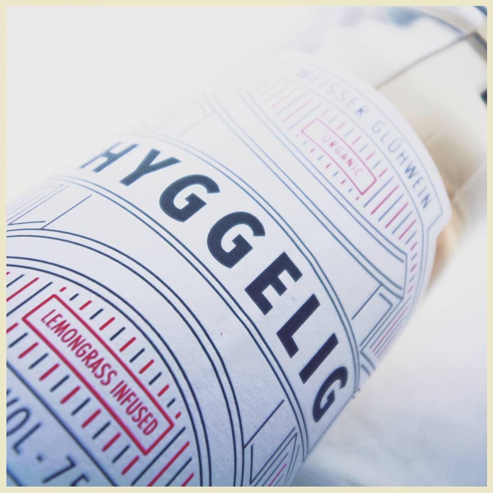 Hyggelig weißer Bio Glühwein mit weniger Zucker
